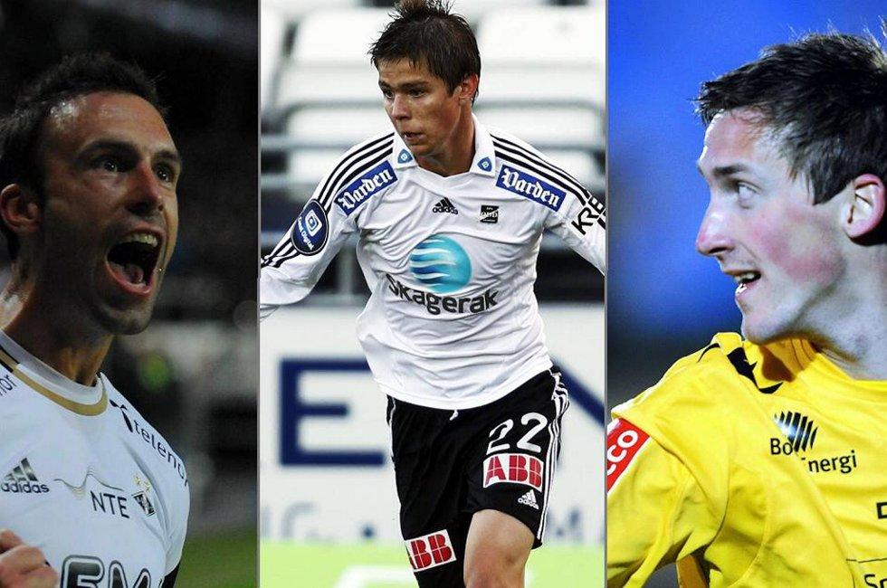 Rade Prica, Torgeir Børven og Vegard B. Braaten er blant kandidatene det kan stemmes på i runde seks.