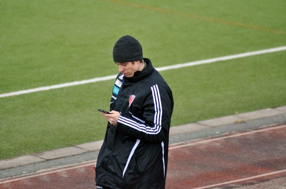 Porsanger-trener Kjell Magne Rasmussen.
