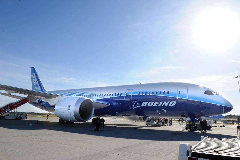 787 Dreamliner har 20 prosent lavere drivstofforbruk per passasjer sammenlignet med fly av samme størrelse. (Foto: Terje Pedersen, ANB)