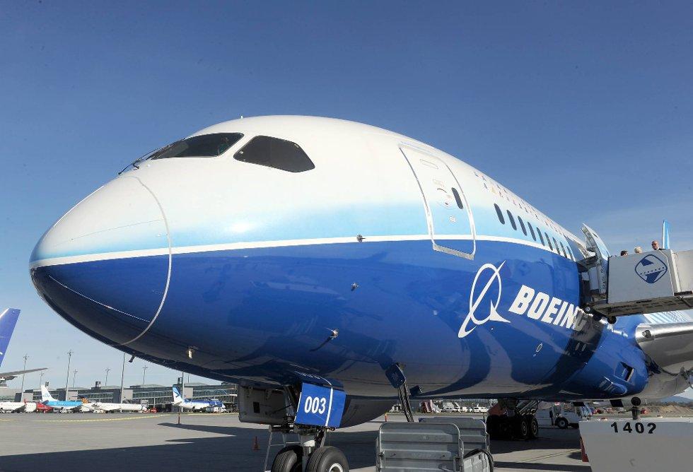 Dreamliner har 25-30 prosent lavere NOx-utslipp i forhold til sammenlignbare flytyper. (Foto: Terje Pedersen, ANB)