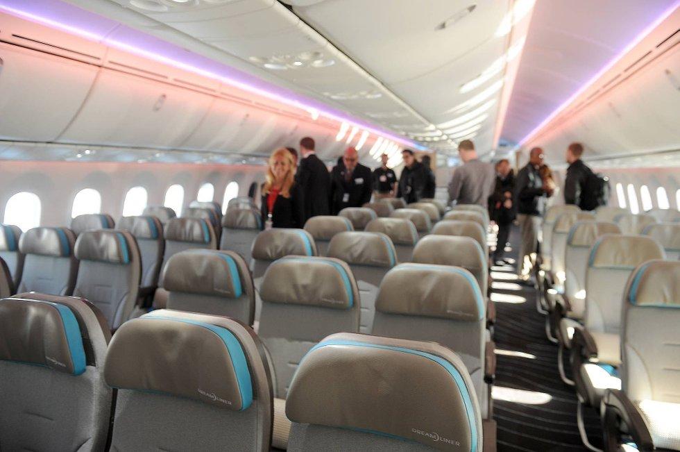 Tomme fly? Fra onsdag kan kabinpersonalet i Norwegian være i streik. (Foto: Terje Pedersen, ANB-arkiv (ill. foto))