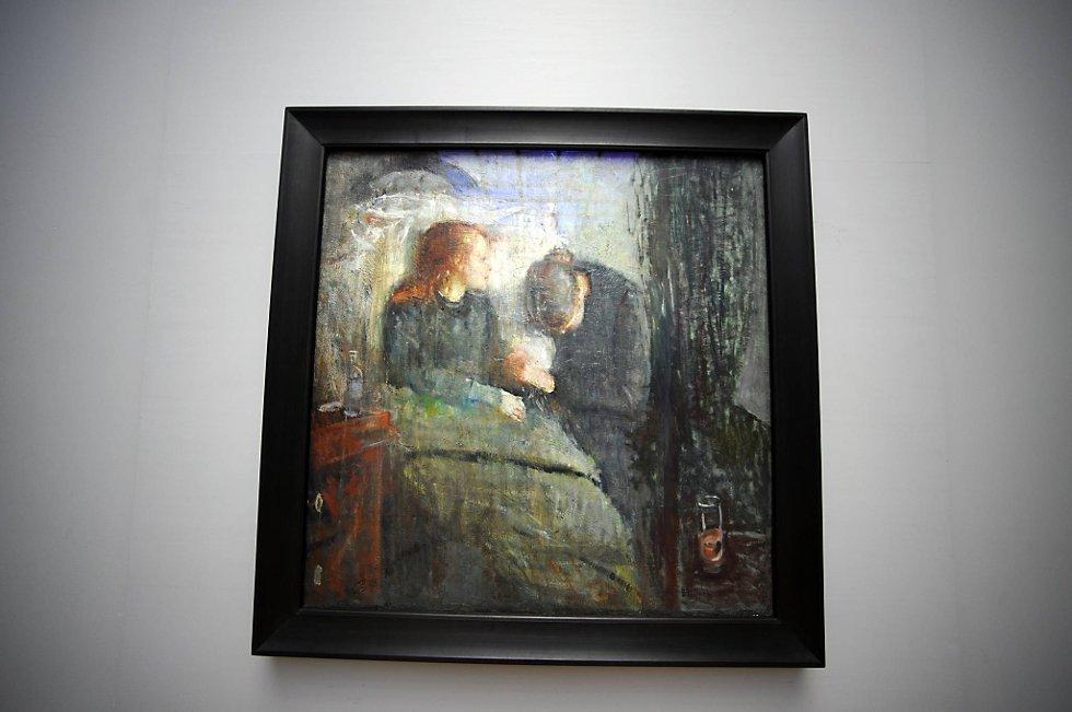 Maleriet Det syke barn (1885-1886) er et av de mest populære, analyserte og diskuterte enkeltverk i Edvard Munchs kunst. Munchs kunst må være med og bli en døråpner for norske samtidskunstnere i utlandet, mener kulturministeren.