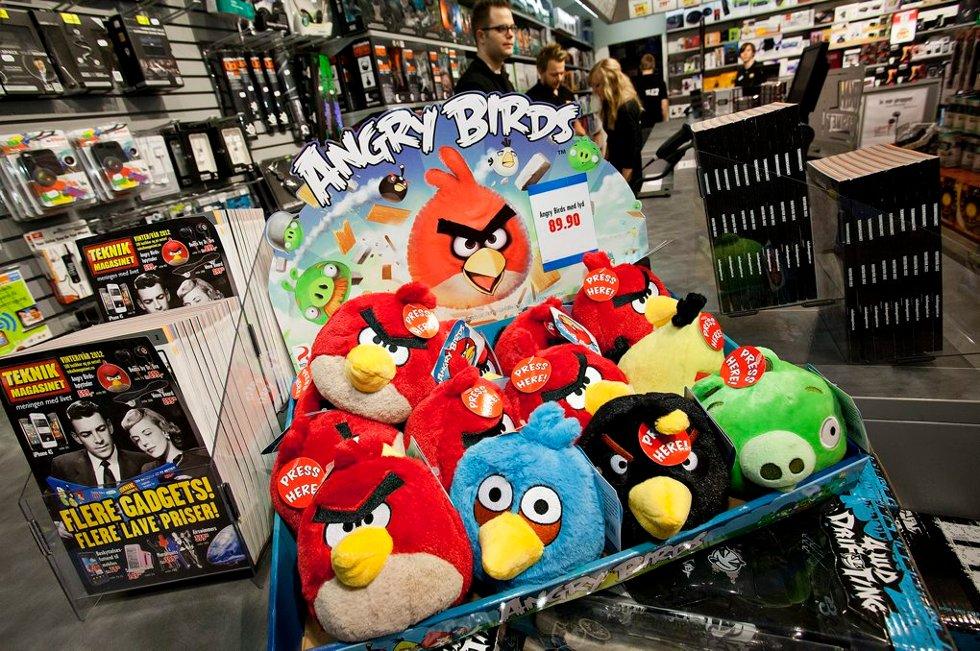 Angry Birds (Foto: Vidar Dons Lindrupsen)