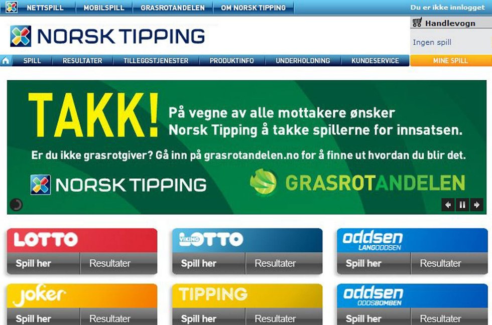 Norsk Tipping.