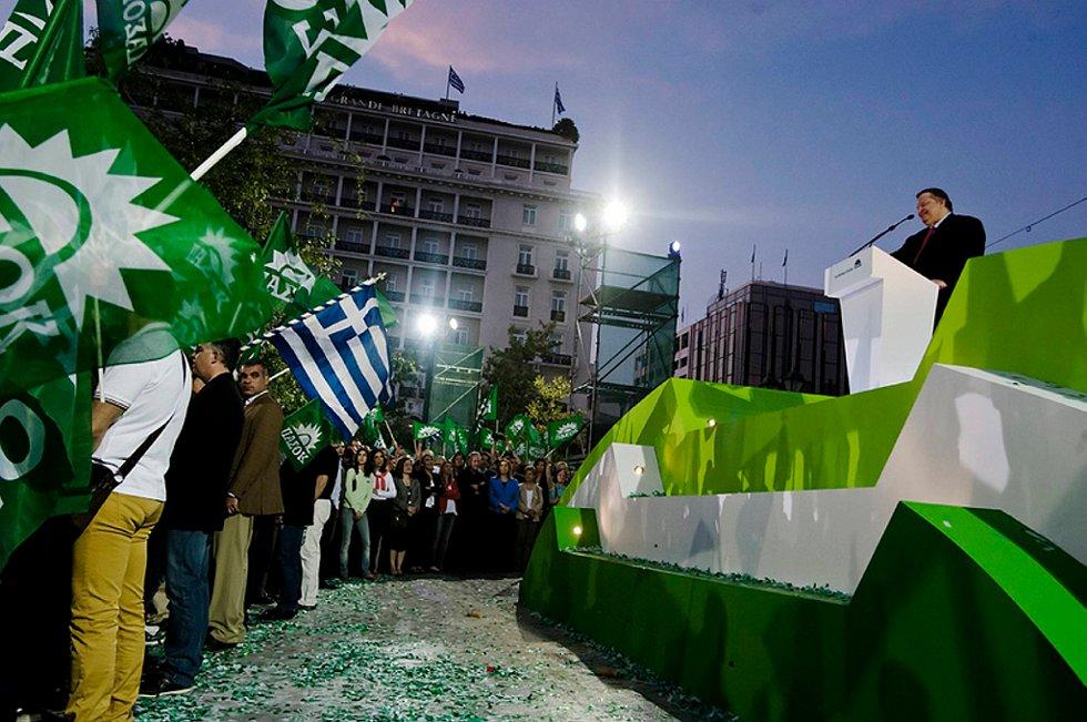 Nytt demokrati og PASOK har mistet flertallet i nasjonalforsamlingen i Hellas.