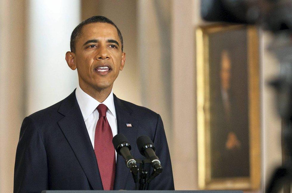 President Barack Obama setter agendaen med ja til homofilt ekteskap.