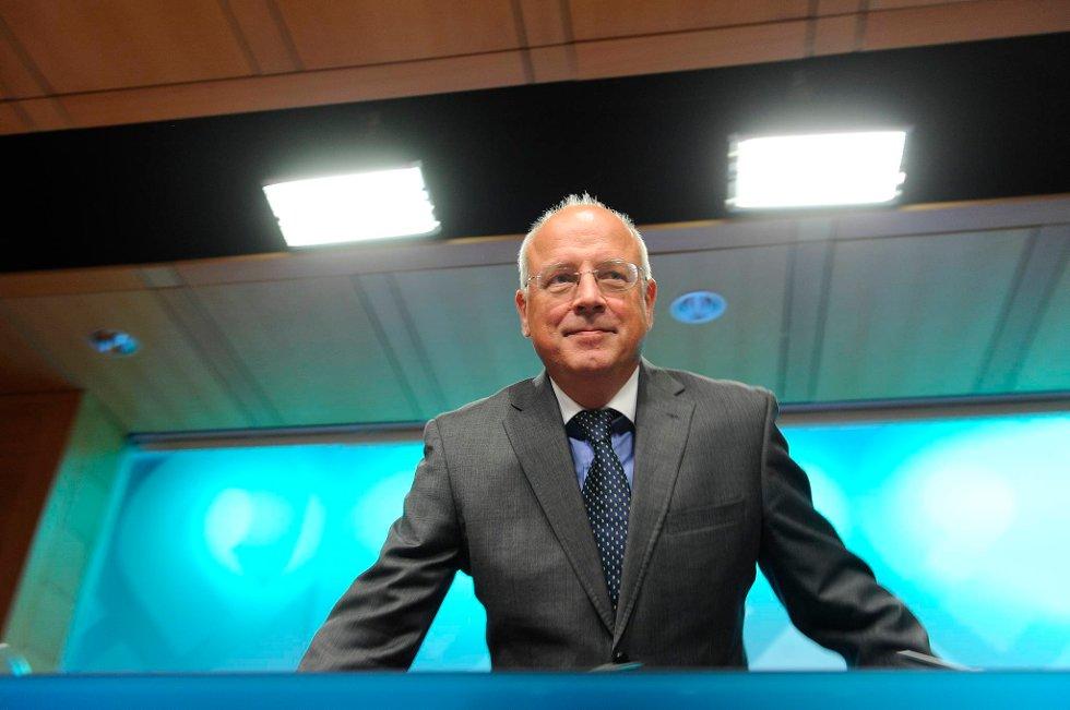 Visesentralbanksjef Jan F. Qvigstad holder renta uendret.