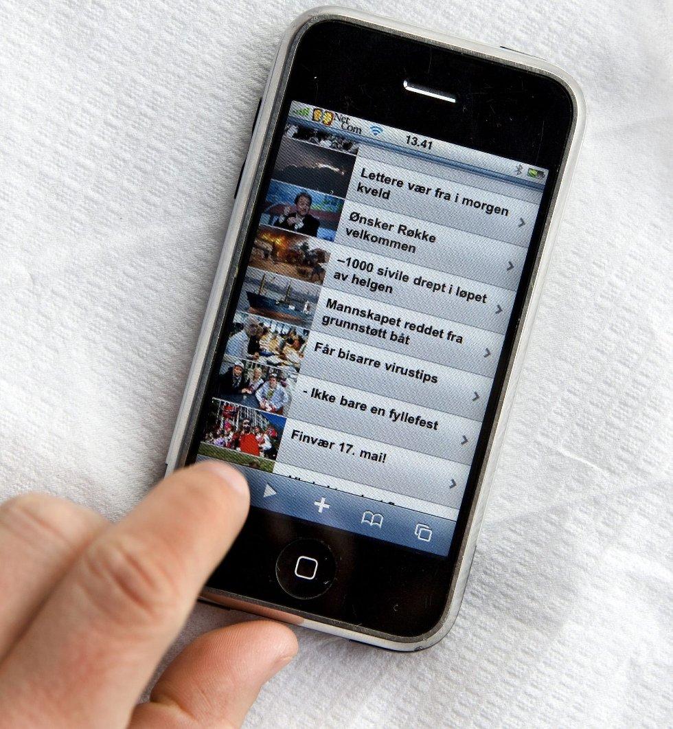 INTERNETT: Ungdom blir avhengig av internett i stadig større grad.     Foto: Gorm Kallestad / SCANPIX