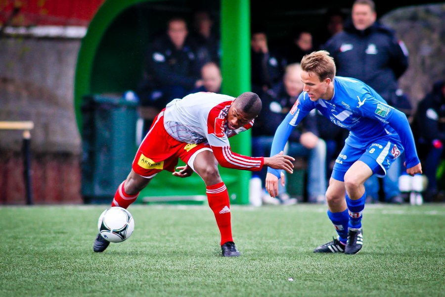 Adeccoligaen , Fotball , 13.05.2012 , Strømmen Stadion , Strømmen v Sarpsborg 08 , Morten Giæver  , Foto: Thomas Andersen (Foto: Thomas Andersen)