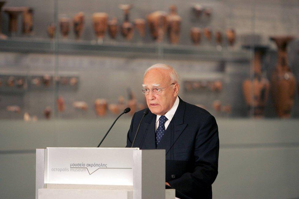 President Karolos Papoulias.