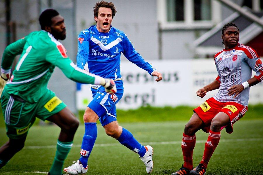 Adeccoligaen , Fotball , 13.05.2012 , Strømmen Stadion , Strømmen v Sarpsborg 08 , Martin Wiig , Foto: Thomas Andersen (Foto: Thomas Andersen)