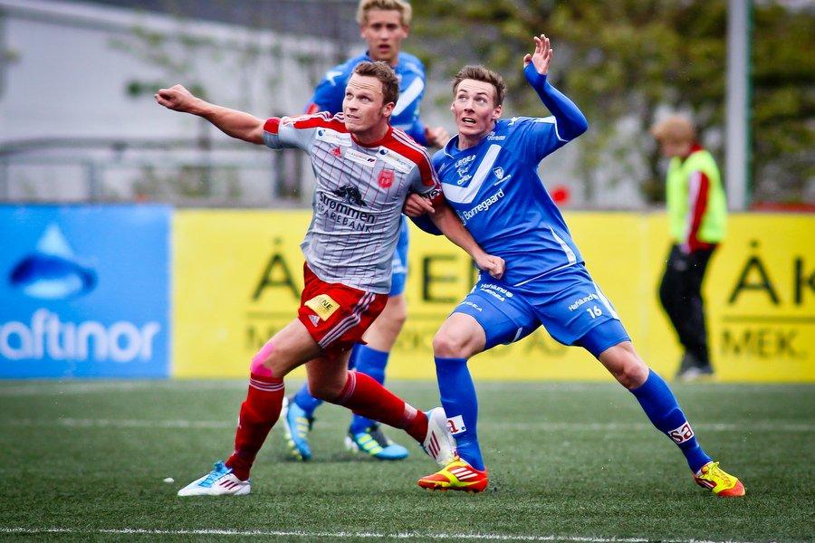 Adeccoligaen , Fotball , 13.05.2012 , Strømmen Stadion , Strømmen v Sarpsborg 08 , Magnar Ødegaard , Foto: Thomas Andersen (Foto: Thomas Andersen)