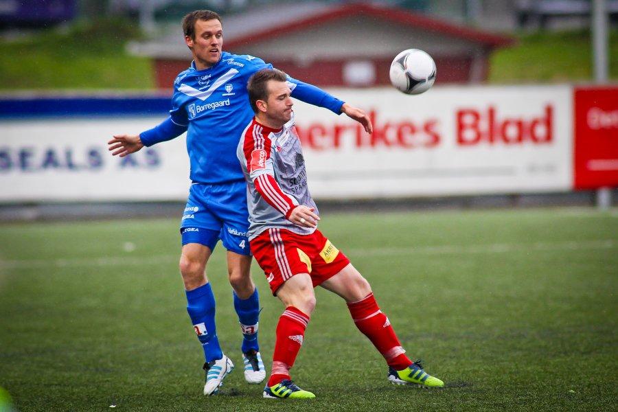 Adeccoligaen , Fotball , 13.05.2012 , Strømmen Stadion , Strømmen v Sarpsborg 08 ,  Kjetil Berge , Foto: Thomas Andersen (Foto: Thomas Andersen)