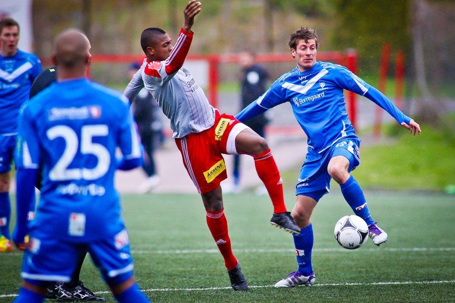 Adeccoligaen , Fotball , 13.05.2012 , Strømmen Stadion , Strømmen v Sarpsborg 08 , Tom Erik Breive , Foto: Thomas Andersen (Foto: Thomas Andersen)