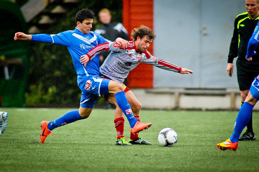 Adeccoligaen , Fotball , 13.05.2012 , Strømmen Stadion , Strømmen v Sarpsborg 08 , Mohamed Elyounoussi , Foto: Thomas Andersen (Foto: Thomas Andersen)