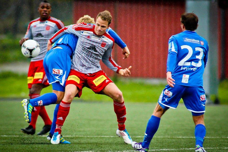Adeccoligaen , Fotball , 13.05.2012 , Strømmen Stadion , Strømmen v Sarpsborg 08 ,  , Foto: Thomas Andersen (Foto: Thomas Andersen)