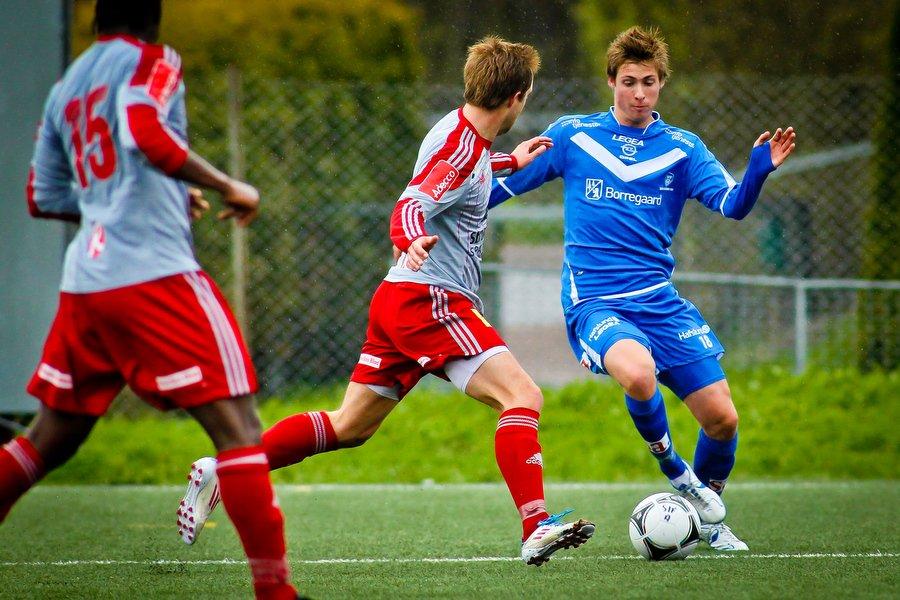 Adeccoligaen , Fotball , 13.05.2012 , Strømmen Stadion , Strømmen v Sarpsborg 08 , Nicolay Solberg , Foto: Thomas Andersen (Foto: Thomas Andersen)