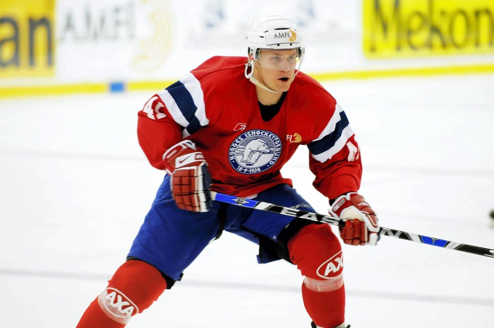 Patrick Thoresen var en av Norges beste spillere mot Danmark.