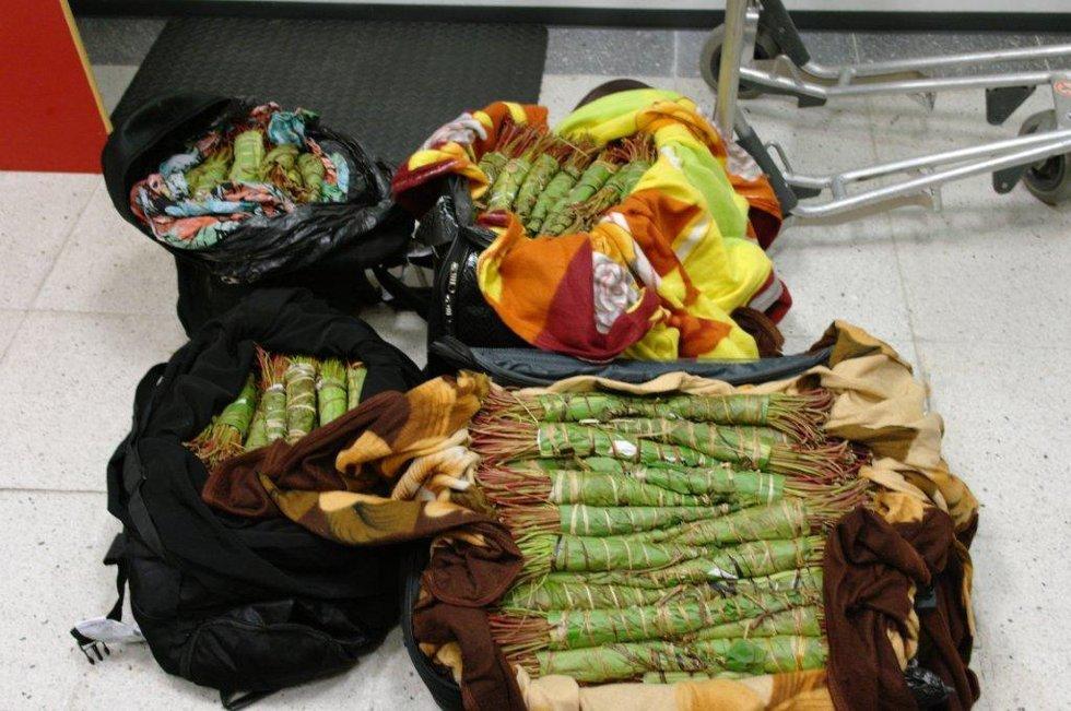 Beslaget på cirka 43 kilo blir nå etterforsket av politiet i Bergen.