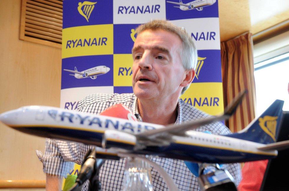 Ryanairsjef Michael O'Leary.