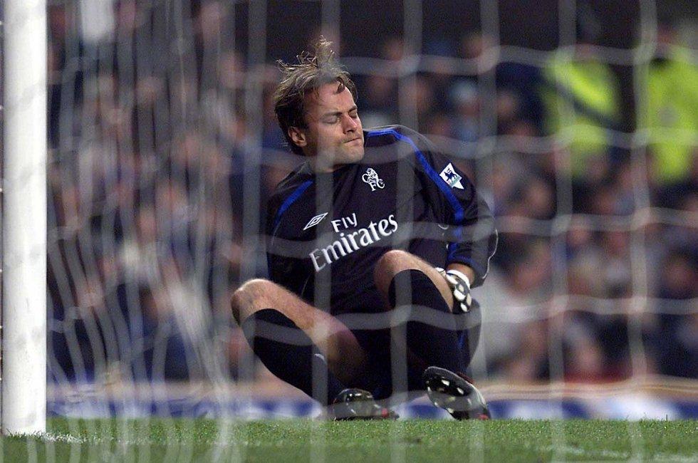 Mark Bosnich fra tiden i Chelsea.