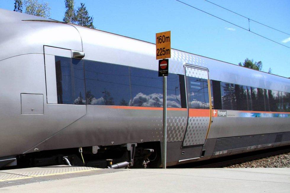 Flytoget ble innstilt mellom Drammen og Asker onsdag.