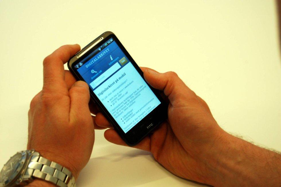 Appen «Digitalarkivet», som er gratis, er et nyttig søkeverktøy for norske slektsforskere.