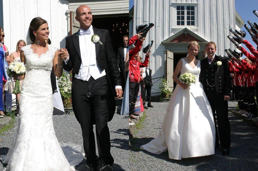 Tord Asle Gjerdalen giftet seg lørdag med Elisabeth Olimb, mens Marie Haugli fikk sin Runar Tufto samme dag.