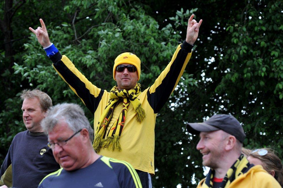 ROCK ´N´ROLL: Håvard Malones. (Foto: Vidar Sandnes                   )