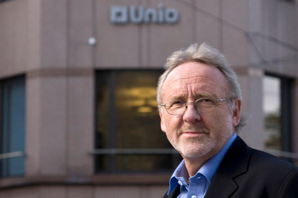 Unio-leder Anders Folkestad sier det er opp til motparten å respondere på streiken.
