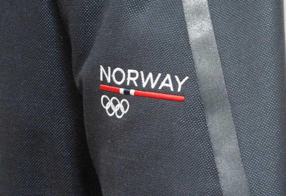 Dressene som skal benyttes i OL og Paralympics har fått fine detaljer. (Foto: Terje Pedersen, ANB)