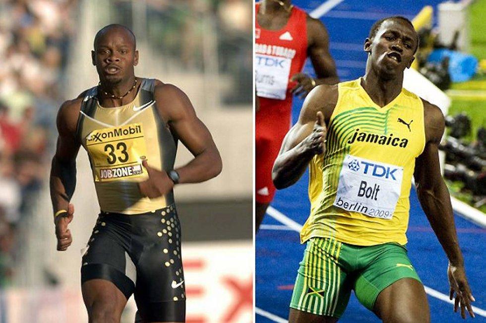 Usain Bolt knuste Asafa Powell i Roma, og verdens raskeste mann løp inn på solide 9,76.