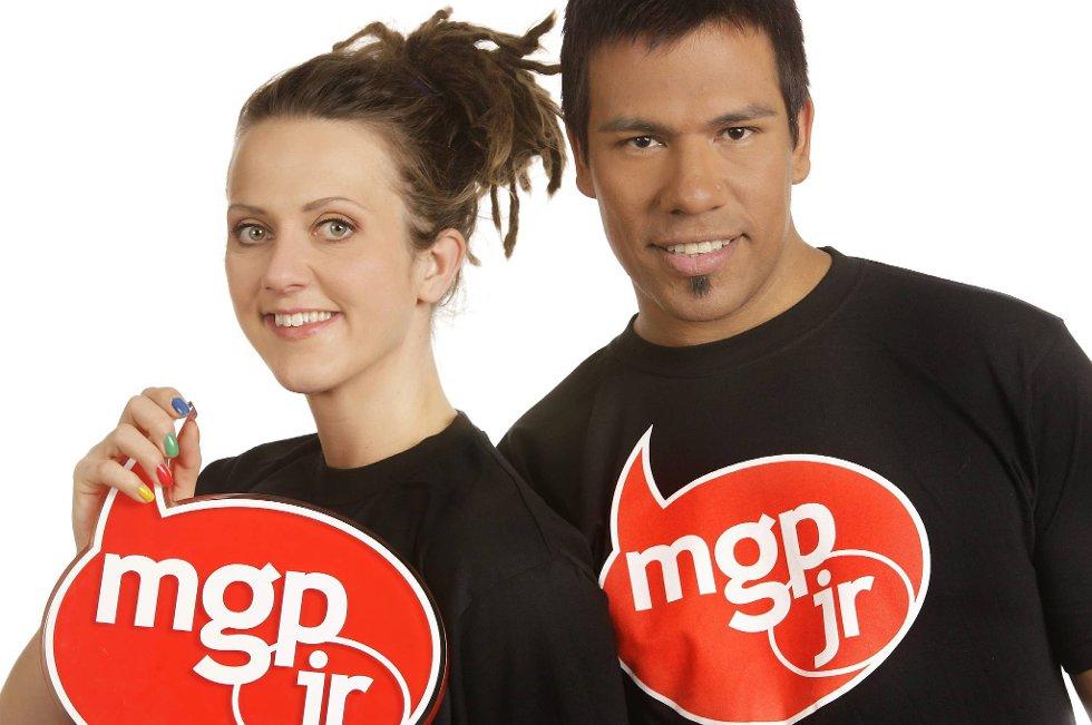 Programledere for MGPjr. 2012 er Margrethe Røed og Vegard «Short Cut» Olsen.