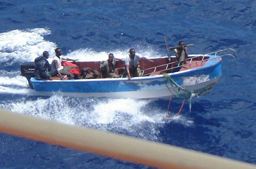 Somaliske pirater er svekket, ifølge nye tall fra Natos innsats mot piratene, Operation Ocean Shield.