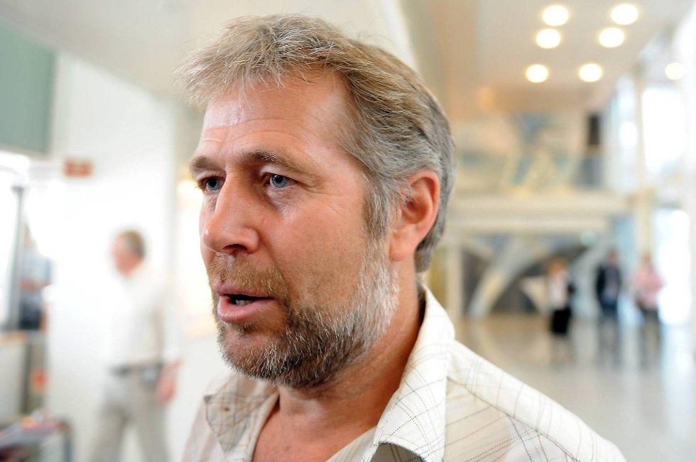 Forhandlingsleder Arne Johannessen.