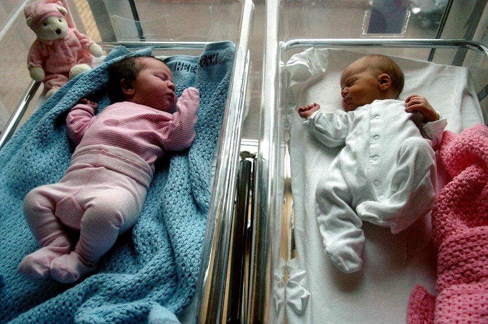 Det fødes færre barn i Norge.