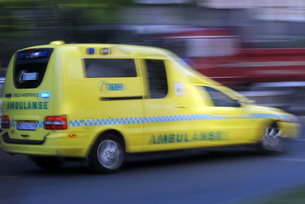 Én person døde på motorsykkel i ettermiddag.