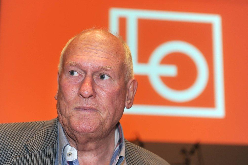 LO-leder Roar Flåthen tok for seg forviklingene under årets lønnsoppgjør da han talte til LOs representantskapsmøte i Folkets Hus i Oslo tirsdag.