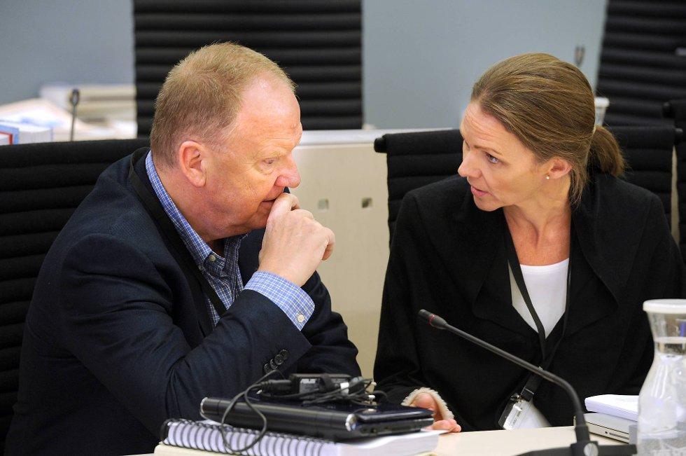 På punkt etter punkt forsvarte Melle onsdag rapporten til Husby og Sørheim, men understreket at verken han eller kommisjonen har konkludert med hvem som har rett, sa han.