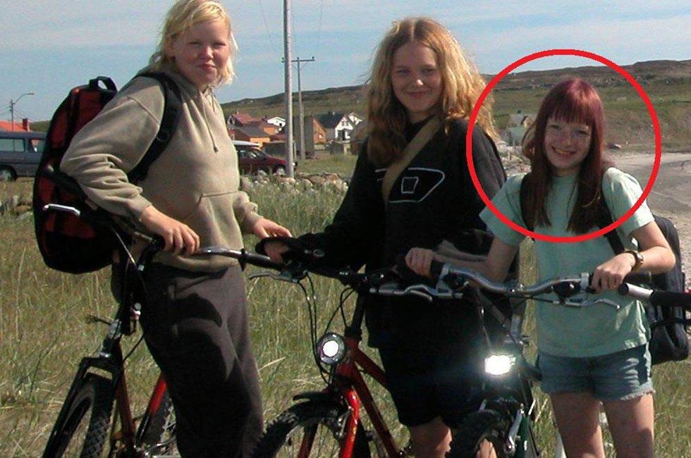 DEN GANG DA: Mye har skjedd siden tolv år gamle, rødhårede Iselin Michelsen syklet til Ekkerøy.