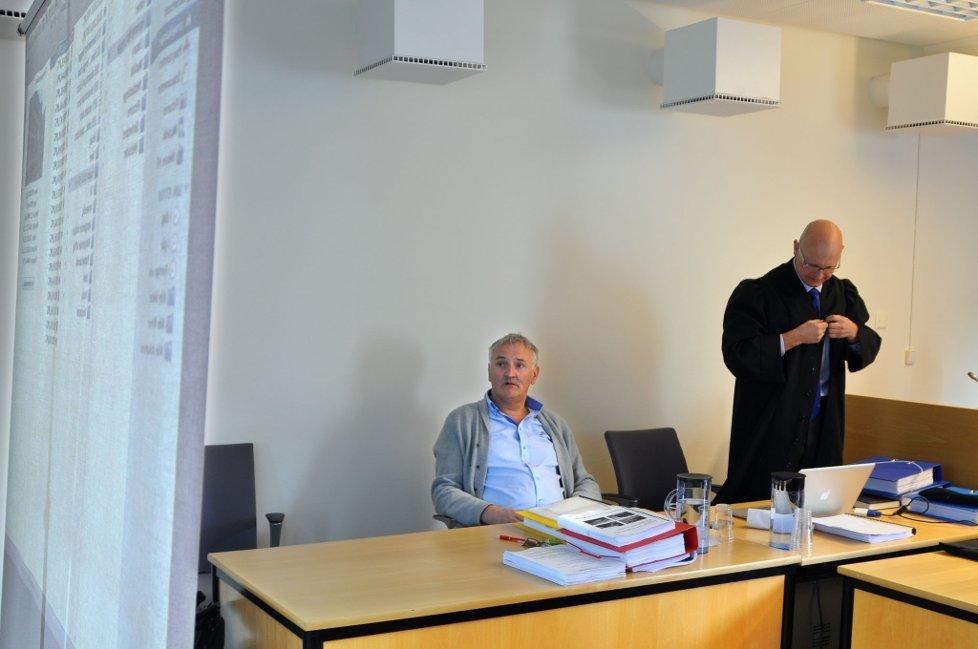 Hammerfest tingrett har tilkjent Sentrumsgården Alta v/Tore Wæraas, 7,8 millioner kroner i erstatning fra altaentreprenøren Finnmark Mur og Puss, som satte opp leilighetsprosjektet Hammerfest Brygge. Foto: Bjørn Egil Jakobsen