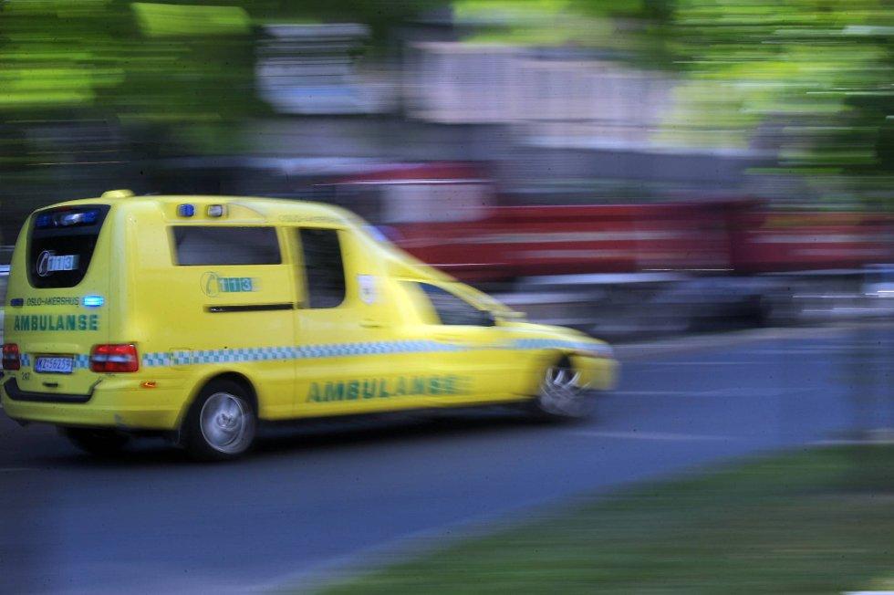 Ulykken skal ha skjedd på Svartangveien, mellom Kvelde og Porsgrunn.