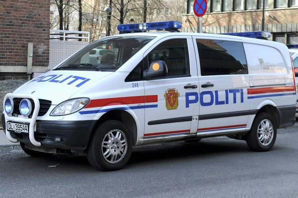 Tre personer er pågrepet i Porsgrunn.