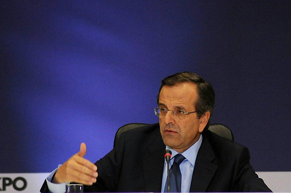 Nytt Demokrati-leder Antonis Samaras begynner det vanskelige arbeidet med å danne regjering i Hellas.