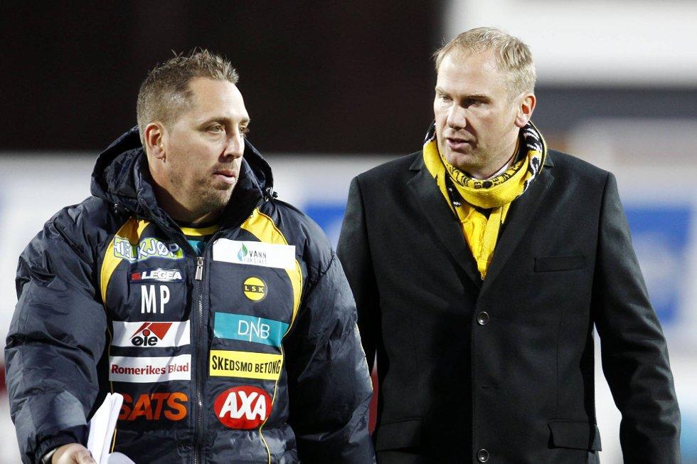 Magnus Powell og Magnus Haglund vil ikke vise hvilke taktiske grep de gjør i forkant av Ull/Kisa-kampen.