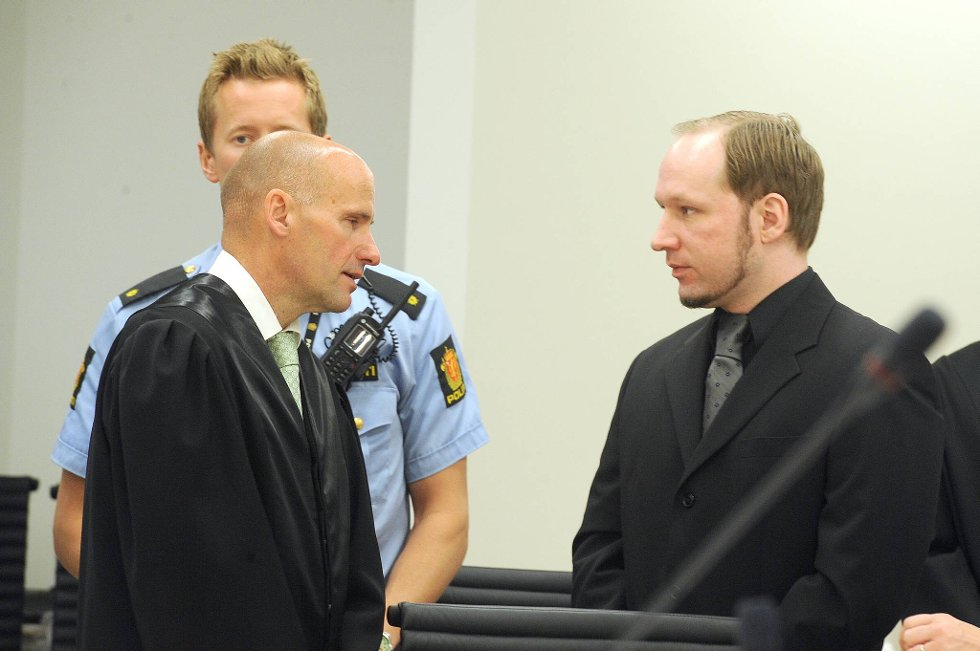 Anders Behring Breivik sutret over at ingen bryr seg om hans traumer.