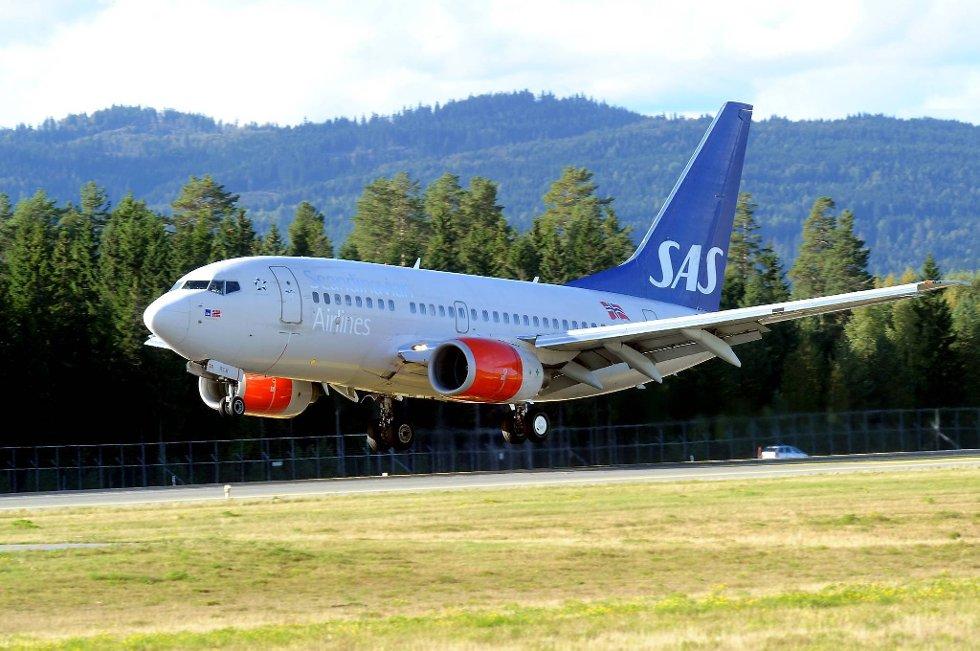 Et Airbus-fly fra SAS som var på vei fra New York til København, måtte onsdag kveld nødlande i Maine på grunn av røyk i kabinen. (Illustrasjonsfoto)