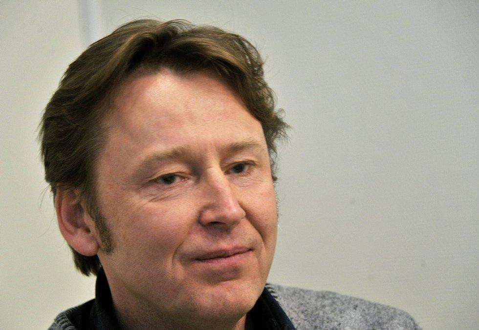 Henrik Eurenius ved Kulturskolen (Foto: Jarl M. Andersen)