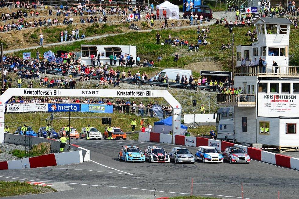 Arrangørene skulle gjerne sett at flere hadde tatt turen til EM-runden på Lånke.