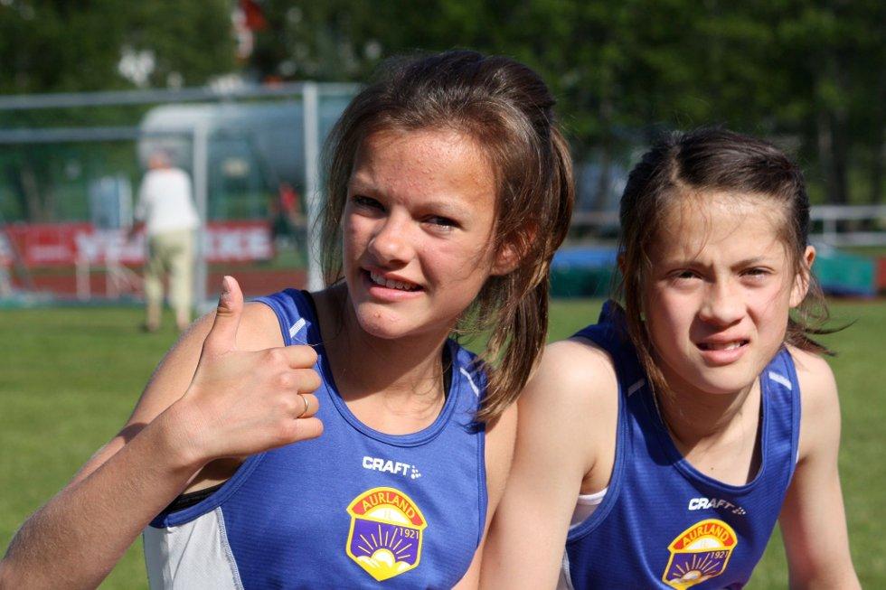 SIGER OVER HEILE LINJA: Kristiane Sekkingstad Terum og Jennifer Mjøs nådde heilt til topps under stevnet på Lillehammer i helga.